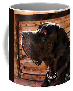 Benson Coffee Mug by Clare Bevan