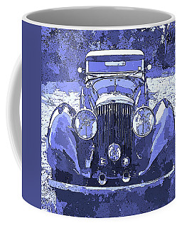 Bentley Blue Pop Art P2 Coffee Mug