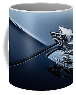 Coffee Mug featuring the digital art Bentley Flying B by Douglas Pittman