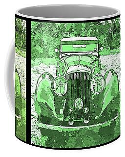 Bentley Green Pop Art Triple Coffee Mug