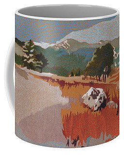 Bergen Peak First Snow Coffee Mug
