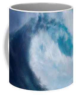 Coffee Mug featuring the digital art Bering Sea by Mark Taylor