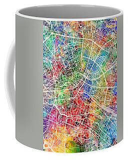 Berlin Germany City Map Coffee Mug