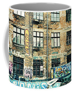 Berlin House Wall With Graffiti  Coffee Mug