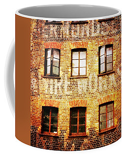 Coffee Mug featuring the photograph Bermondsey Mesh And Wire Works by Anne Kotan
