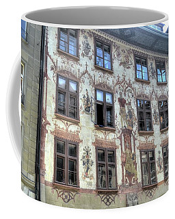 Coffee Mug featuring the photograph Bernese Frontage by Michelle Meenawong