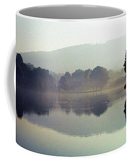 Bernharts Dam Fog 020 Coffee Mug by Scott McAllister