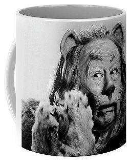 Bert Lahr As The Cowardly Lion In The Wizard Of Oz Coffee Mug