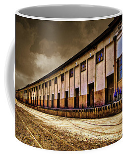 Berth 58 Port Of Los Angeles Coffee Mug by Joseph Hollingsworth