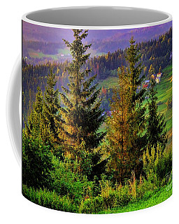 Coffee Mug featuring the photograph Beskidy Mountains by Mariola Bitner