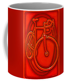 Bespoked In Orange  Coffee Mug