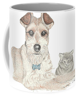 Best Buddies Coffee Mug by Lawrence Tripoli
