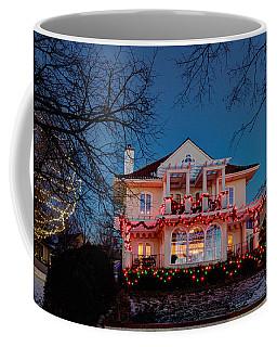 Best Christmas Lights Lake Of The Isles Minneapolis Coffee Mug