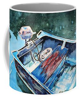 Best Fishing Buddy Coffee Mug by Marilyn Jacobson