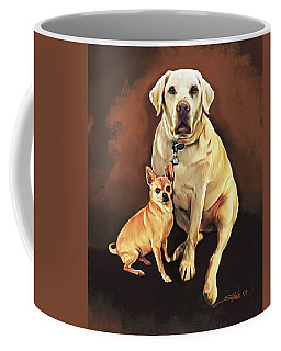 Best Friends By Spano Coffee Mug by Michael Spano