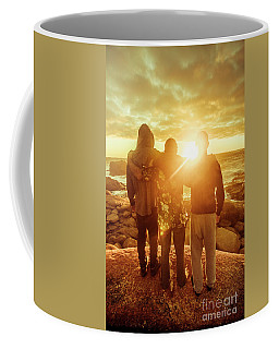 Coffee Mug featuring the photograph Best Friends Greeting The Sun by Jorgo Photography - Wall Art Gallery