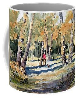 Walking With A Friend Coffee Mug