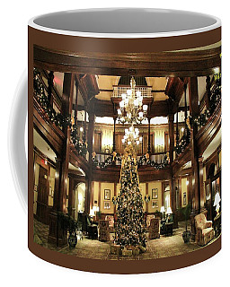 Best Western Plus Windsor Hotel Lobby - Christmas Coffee Mug