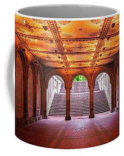 Coffee Mug featuring the photograph Bethesada Terrace by Edgars Erglis