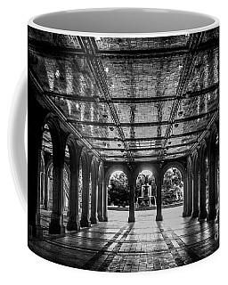 Bethesda Terrace Arcade 2 - Bw Coffee Mug