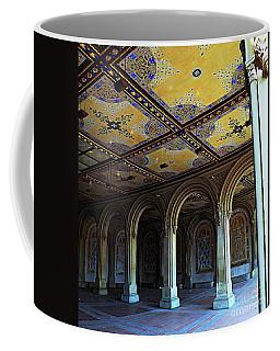 Bethesda Terrace Arcade In Central Park Coffee Mug