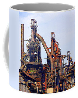 Bethlehem Steel # 11 Coffee Mug by Marcia Lee Jones