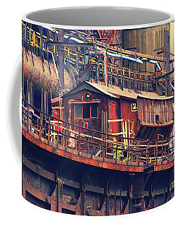 Bethlehem Steel #10 Coffee Mug by Marcia Lee Jones