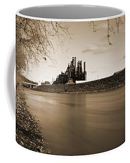 Bethlehem Steel Along The Lehigh Coffee Mug