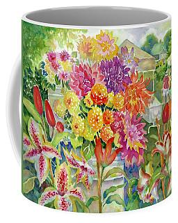 Betsy's Dahlias II Coffee Mug
