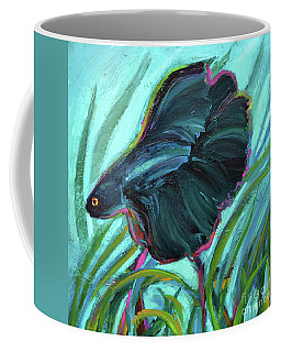 Betta Fish Coffee Mug by Robert Phelps