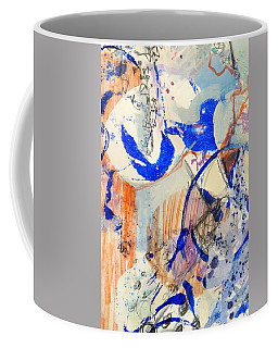 Between Branches Coffee Mug by Mary Schiros
