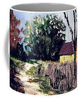 Between Seasons Coffee Mug