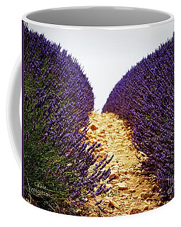 Between The Purple Coffee Mug