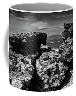 Coffee Mug featuring the photograph Between The Slag by Keith Elliott