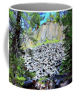 Between The Trees Devils Postpile Coffee Mug