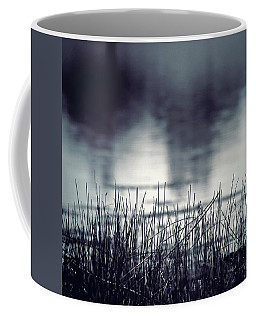 Coffee Mug featuring the photograph Between The Waters by Trish Mistric
