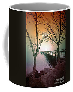 Between Two Trees Coffee Mug by Tara Turner