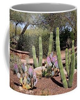 Coffee Mug featuring the photograph Between Walls by Kathryn Meyer