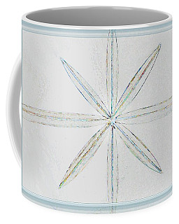 Coffee Mug featuring the photograph Beveled Glass by Ellen O'Reilly