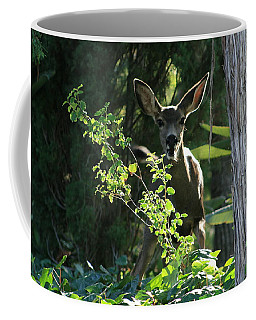 Beverly Hills Deer Coffee Mug by Marna Edwards Flavell