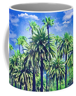 Beverly Hills Palms Coffee Mug