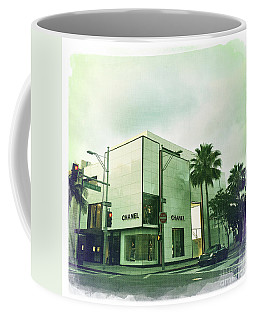 Beverly Hills Rodeo Drive 13 Coffee Mug by Nina Prommer