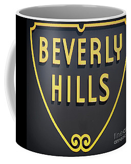 Beverly Hills Sign Coffee Mug