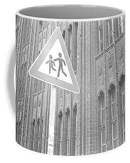 Beware Of The Children Coffee Mug
