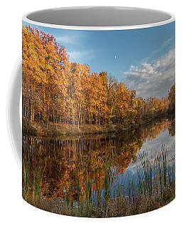 Beyer's Pond In Autumn Coffee Mug