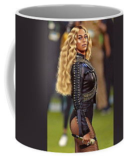 Beyonce Black Panther Drawing #2 Coffee Mug