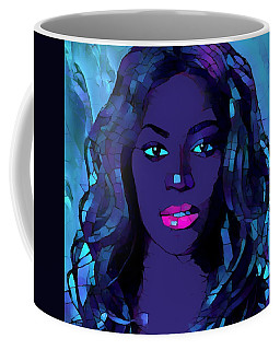 Beyonce Graphic Abstract Coffee Mug