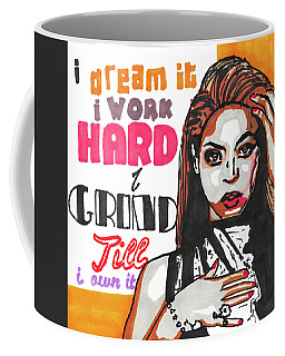 Beyonce Pop Art Painting Coffee Mug