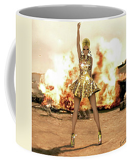 Beyonce - Run The World Girls 4 Coffee Mug