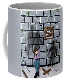 Beyond The Wall Coffee Mug
